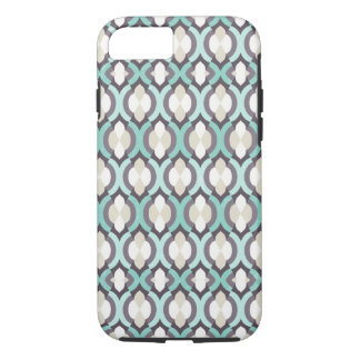 Turquoise Moroccan Pattern iPhone 8/7 Case
