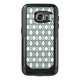 Turquoise Moroccan Pattern OtterBox Samsung Galaxy S7 Case