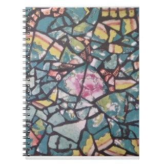 Turquoise Mosaic notebook