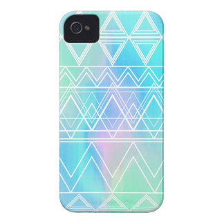 Turquoise Multi Tribal iPhone 4 Cases