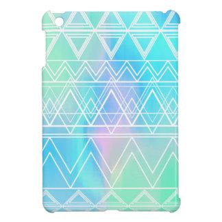 Turquoise Multi Tribal iPad Mini Cover
