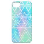 Turquoise Multi Tribal iPhone 5 Case