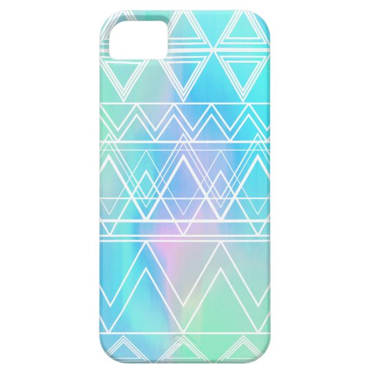 Turquoise Multi Tribal iPhone 5 Covers