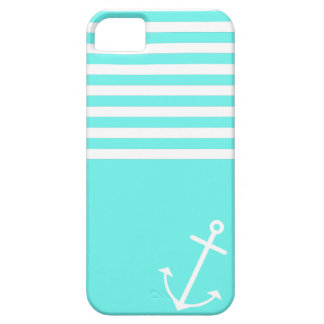 Turquoise Nautical Barely There iPhone 5 Case