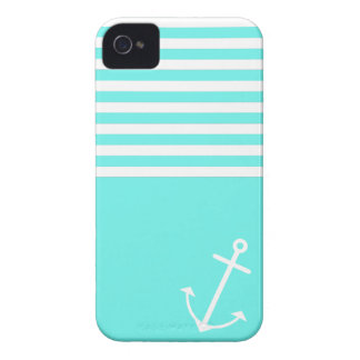 Turquoise Nautical Case-Mate iPhone 4 Case
