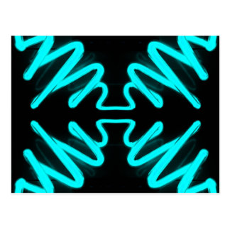 Turquoise Neon Urban Art by CricketDiane Post Cards