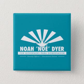 """Turquoise Noah """"Noé"""" Dyer Button"""