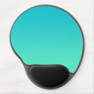 """Turquoise Ombre"" Gel Mouse Mat"