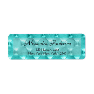 Turquoise or Teal Blue Jeweled Parisian
