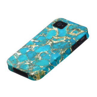 Turquoise Pattern iPhone Case iPhone 4/4S Covers