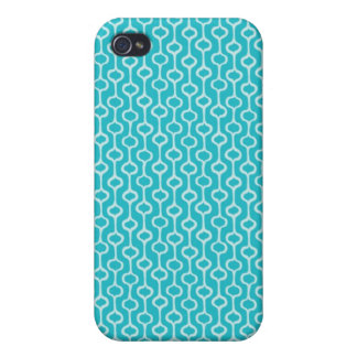 Turquoise Pattern iPhone Cover Cover For iPhone 4