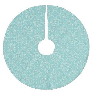 Turquoise Pattern Tree Skirt