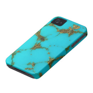 """""""Turquoise Phone Case"""" iPhone 4 Cases"""