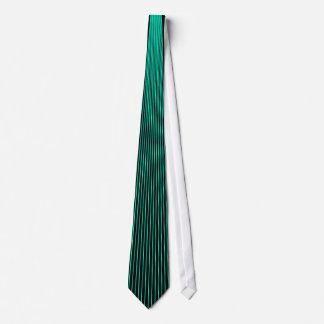 Turquoise Pinstripe Tie