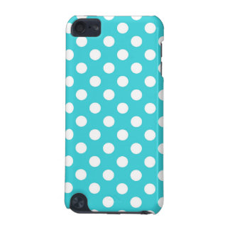 Turquoise Polka Dot iPod Touch 5G Covers