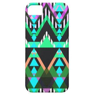 Turquoise Pop Aztec iPhone 5 Covers