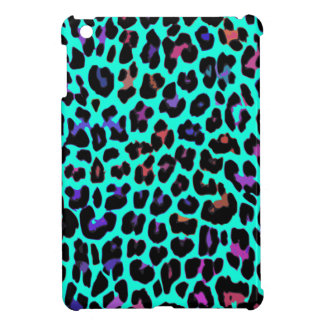 Turquoise Pop Leopard Cover For The iPad Mini