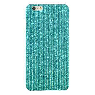 Turquoise Print Background iPhone 6 Plus Case