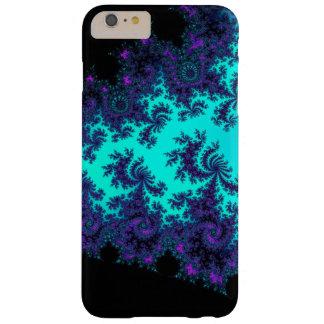 Turquoise Purple Fractal Lace  iPhone 6 Plus Case