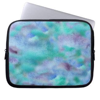 Turquoise Purple Laptop Sleeve 10''