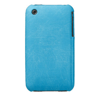 Turquoise Retro Grunge Scratched Texture Case-Mate iPhone 3 Case