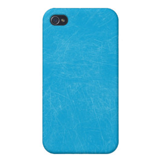 Turquoise Retro Grunge Scratched Texture iPhone 4 Cover