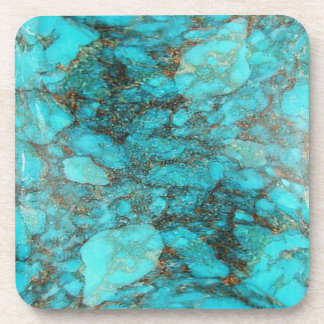 Turquoise Rock Gift Coasters