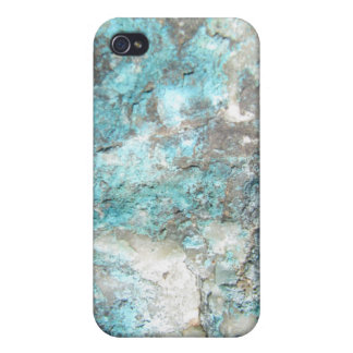 Turquoise Rock iPhone 4 Cases
