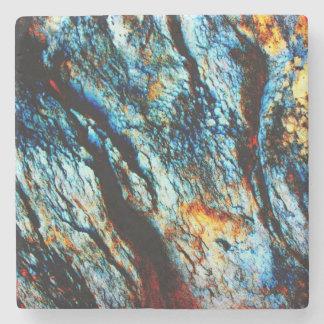 Turquoise Rock Stone Coaster