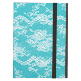 Turquoise Romantic Lace iPad Air Cases
