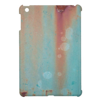 Turquoise Rusted Metal iPad Mini Cover