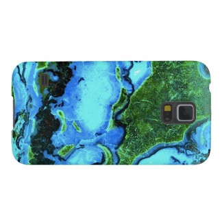 """""""Turquoise Samsung Galaxy Phone Case"""" Galaxy S5 Case"""