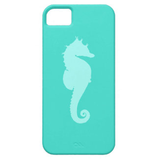 Turquoise Sea Horse 2 Case For The iPhone 5