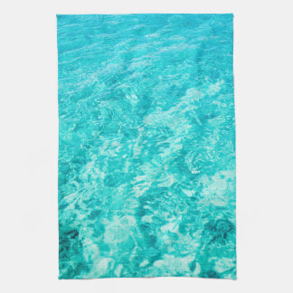 Turquoise Sea Ocean Kitchen Towel