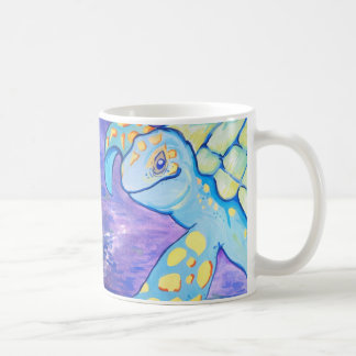 Turquoise Sea Turtle Coffee Mug