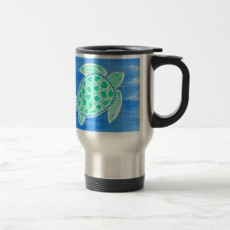 Turquoise Sea Turtle Mug
