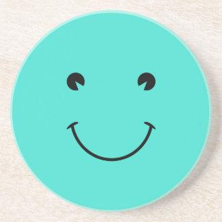 Turquoise  Smile Coaster