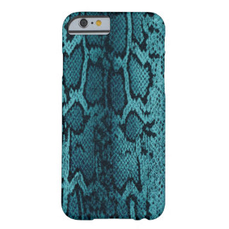 Turquoise snake skin barely there iPhone 6 case