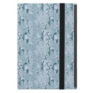 Turquoise Snake Skin Case For iPad Mini