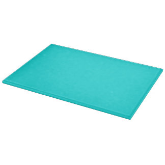 Turquoise Solid Color Cutting Boards