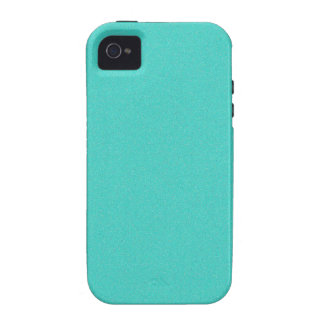 Turquoise Star Dust iPhone 4/4S Cover