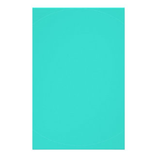 Turquoise Stationery