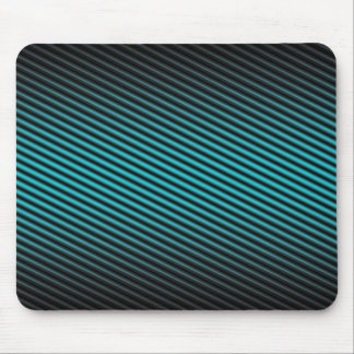 turquoise stripes mouse pads