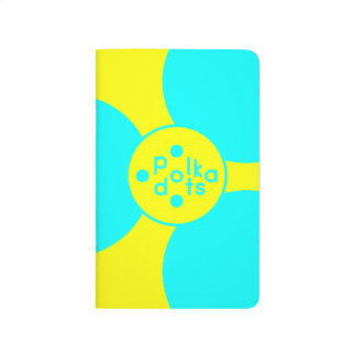 Turquoise & Sunshine Yellow Pocket Journal