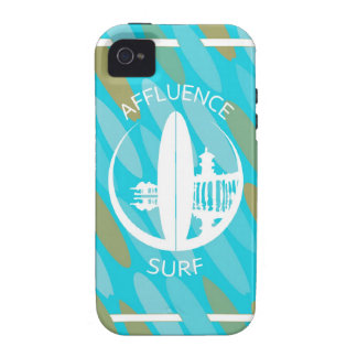 Turquoise Surfboards Affluence Surf Vibe iPhone 4 Covers