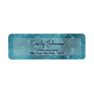 Turquoise Teal Blue Sparkle Bling Girly