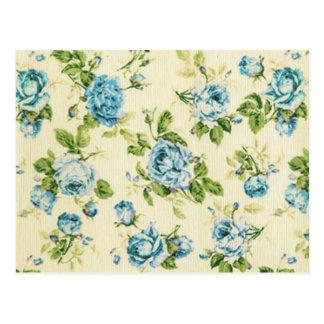 turquoise,teal,floral vintage,victorian,grunge, postcard