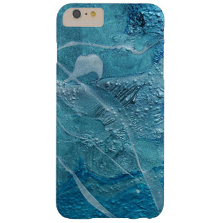 turquoise texture abstract barely there iPhone 6 plus case