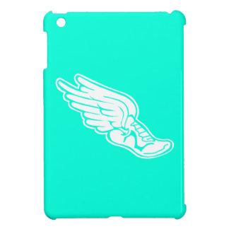 Turquoise Track Logo iPad Mini Cases