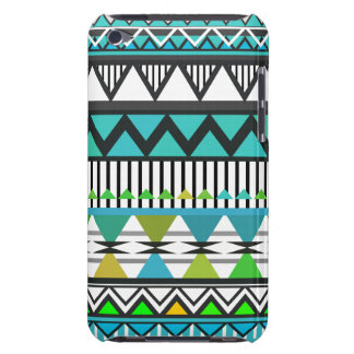 Turquoise Tribal 2 Pattern iPod Touch  Case